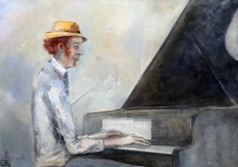 Uta_Schock_Malerei_Oel_Der-Pianist