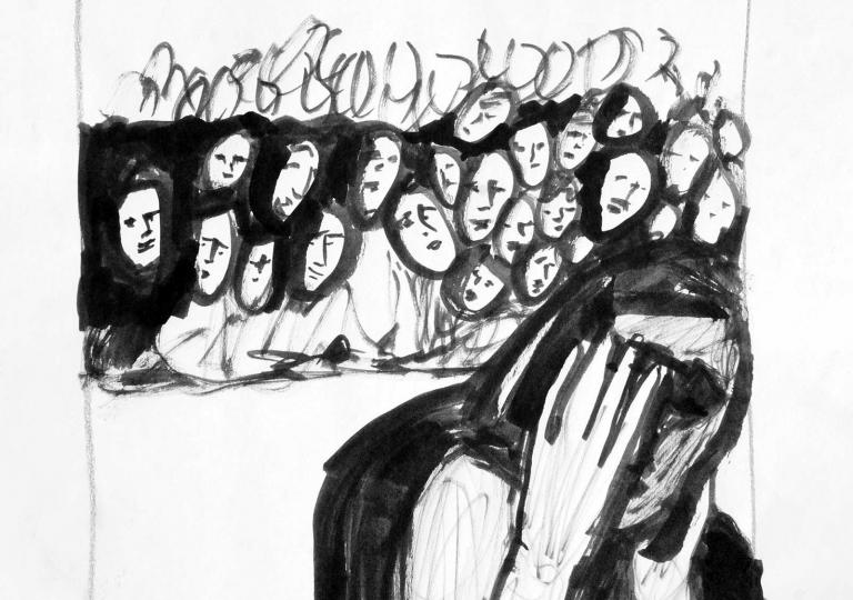 Uta_Schock_Malerei_Zeichnung_Ausgrenzung